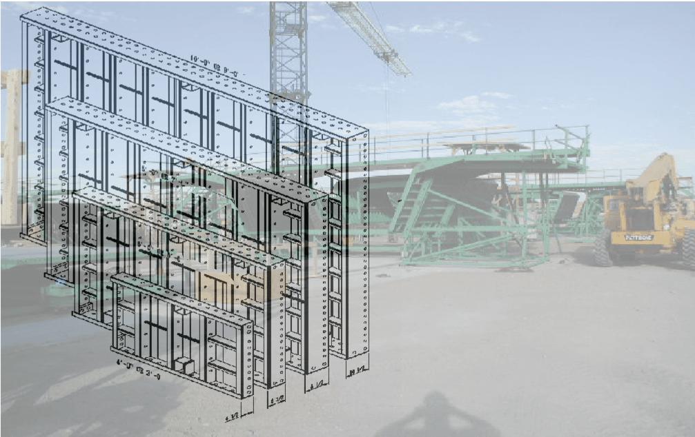 beam-form panel mockup
